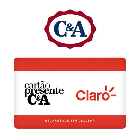 Vale Presente C&A Recarga de Celular – Claro