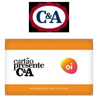 Vale Presente C&A Recarga de Celular - Oi