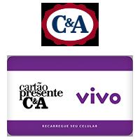 Vale Presente C&A Recarga de Celular - VIVO