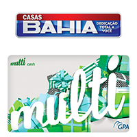 Vale Presente Casas Bahia - Multicash