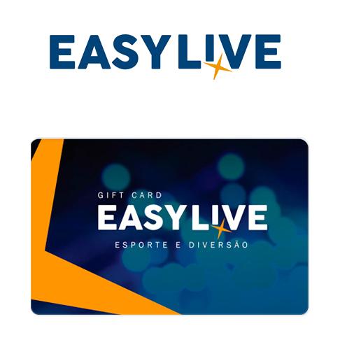 Vale Presente Easy Live – Esporte e Diversão