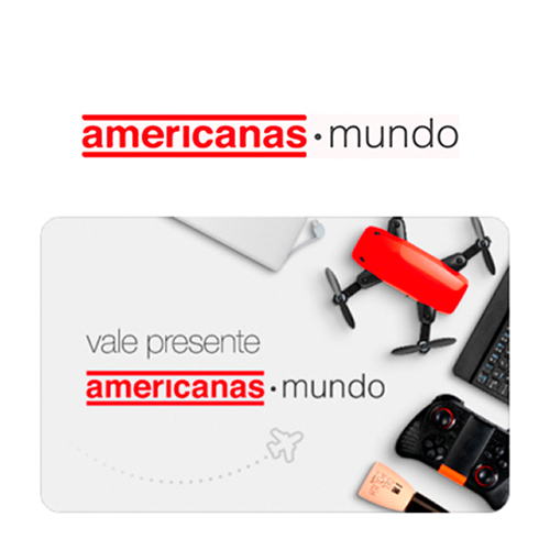Vale Presente Americanas Mundo