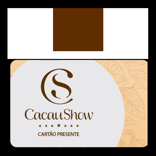 Vale Presente Cacau Show