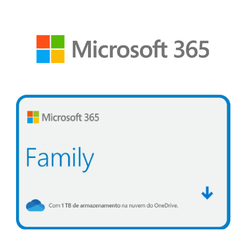 Vale Presente Microsoft Office 365 Family