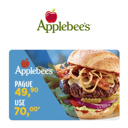 Vale Presente Applebee's Bônus