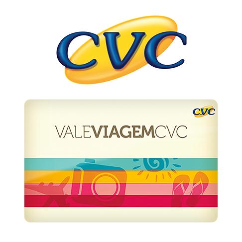 Vale Presente Vale Viagem CVC