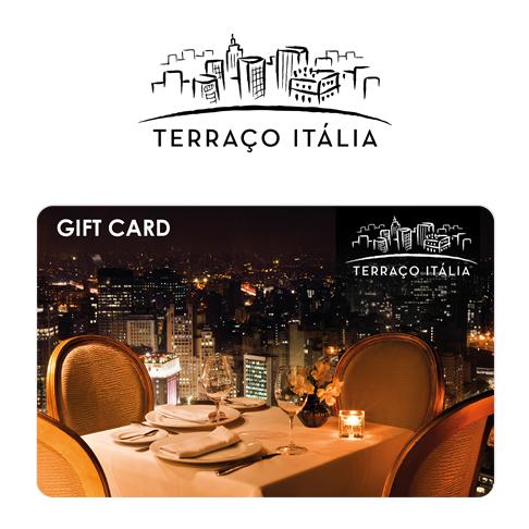 Vale Presente Gift Card Terraço Itália