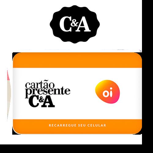 Vale Presente C&A Recarga de Celular – Oi