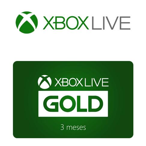 Vale Presente Xbox Live Gold – Assinatura 3 meses
