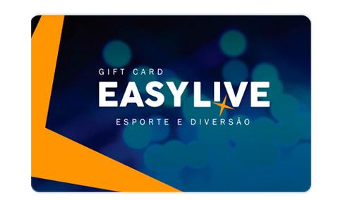 Vale Presente Easy Live - Esporte e Diversão
