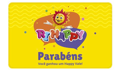 Vale Presente Happy Vale - Ri Happy
