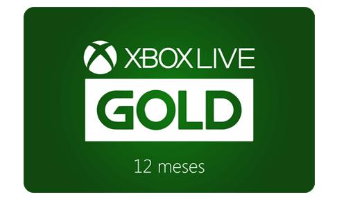 Vale Presente Xbox Live Gold – Assinatura 12 meses