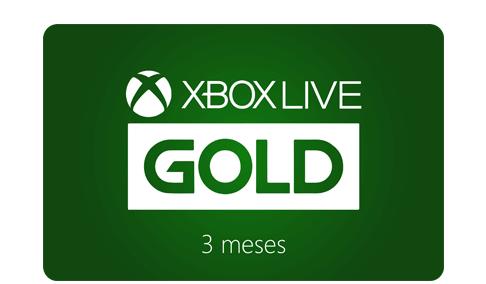 Vale Presente Xbox Live Gold - Assinatura 3 meses