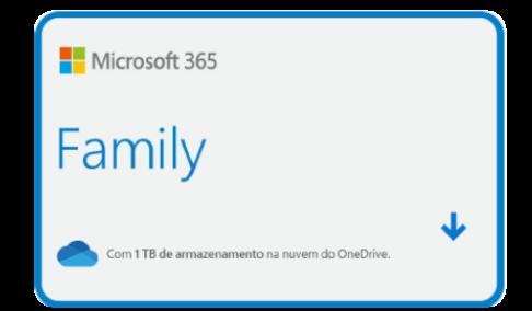 Vale Presente Microsoft Office 365 Family
