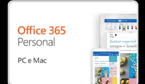 Vale Presente Microsoft Office 365 Personal