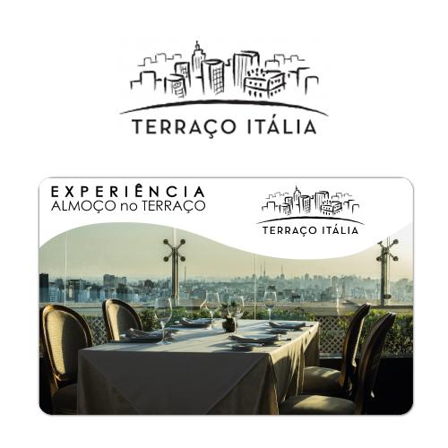 Vale Presente Gift Card Terraço Itália Experiência Almoço no Terraço