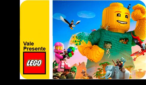 Vale Presente LEGO