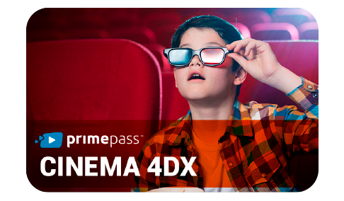 Vale Presente Primepass Cinema 4DX