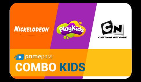 Vale Presente Primepass Combo Kids