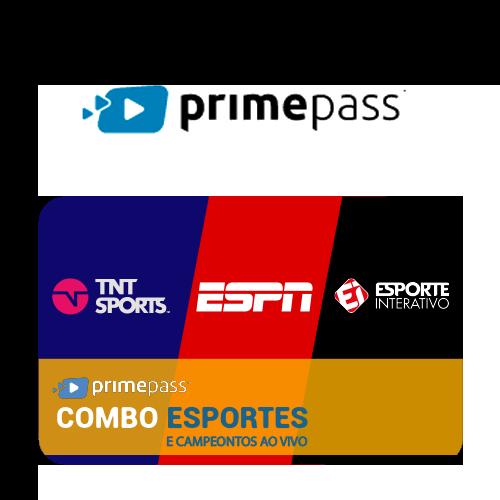 Vale Presente Primepass Combo Esportes e Campeonatos