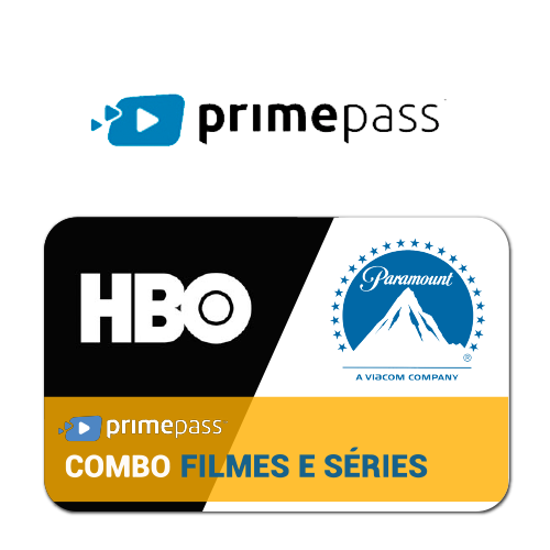 Vale Presente Primepass Combo Select Filmes e Séries Premium