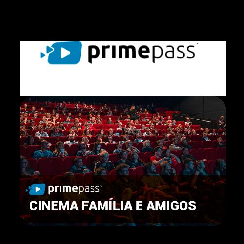 Vale Presente Primepass Cinema com Família e Amigos