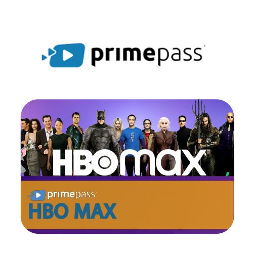 Vale Presente HBO MAX by Primepass